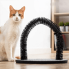 Cat self grooming tool arc-shaped