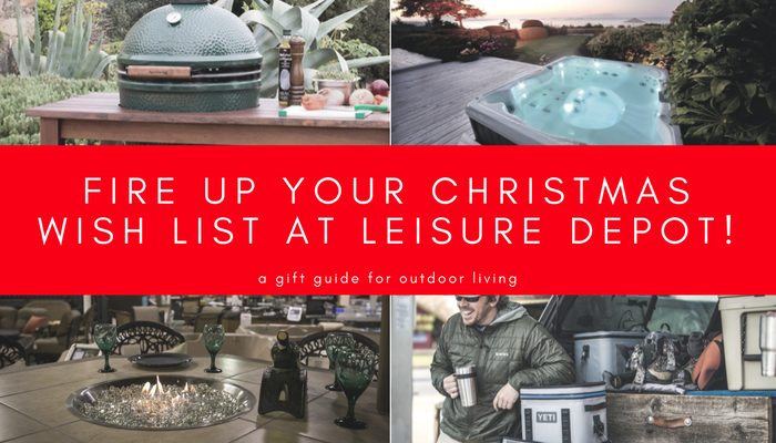 Christmas wish list guide for outdoor living
