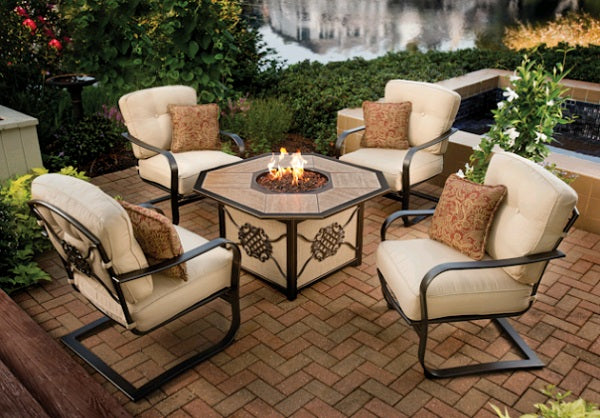 Heritage Fire Pit Chat Set