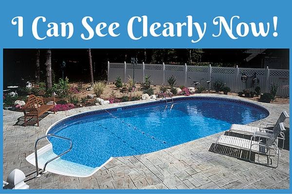 Clean and clear pool