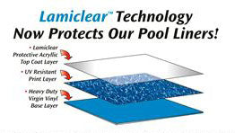 pool liner Lamiclear diagram