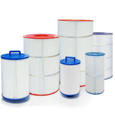 Replacement filter cartridges and parts for pool