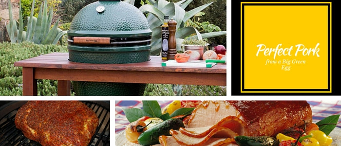 Perfect Pork on a Big Green Egg Blog Header