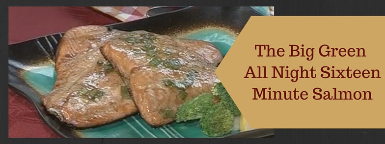 Big green egg 16 minute salmon banner image