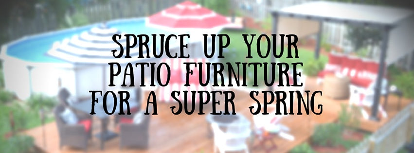 spring cleaning patio furniture blog header