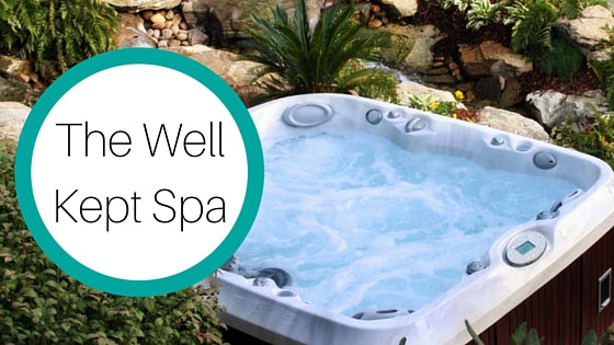 the well kept  spa blog cover