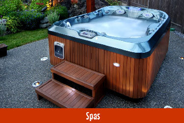 Hot tub and spa department link