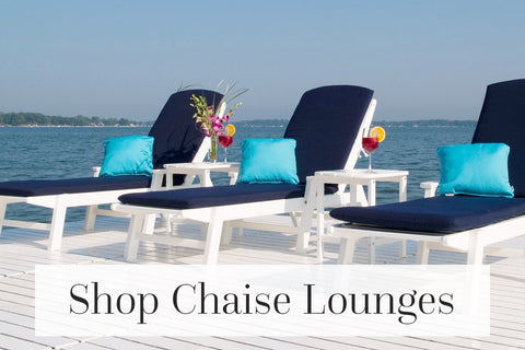 shop outdoor chaise lounges
