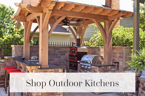 shop outdoor kitchen island collection