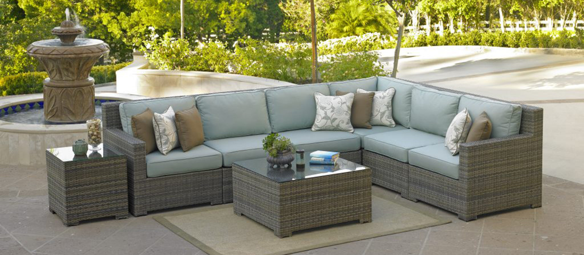 All weather wicker furniture collection