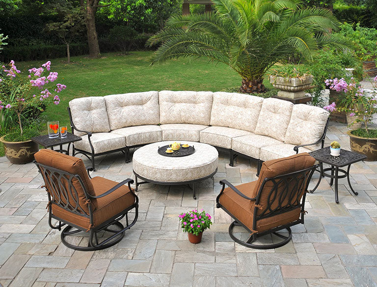 Quality cast aluminum furniture