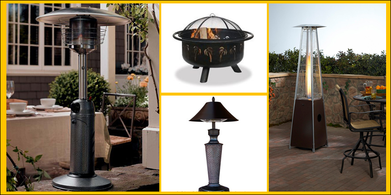 patio heater collection banner