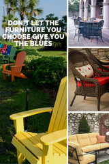 patio furniture material choices