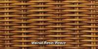 Walnut Resin Weave