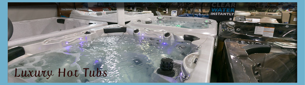 luxury hot tubs web banner