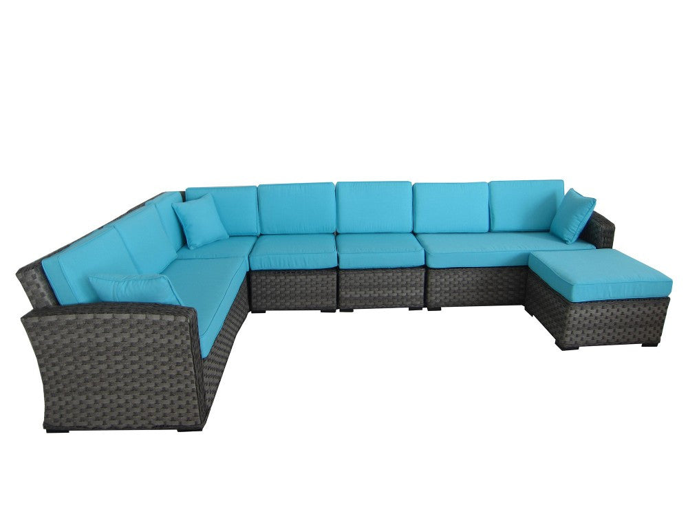 Havenwood 6 Piece Mix Weave Sectional