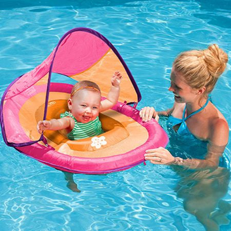 Baby Spring Float with Sun Canopy  sc 1 st  Leisure Depot & Baby Spring Float with Sun Canopy u2013 Leisure Depot