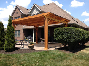 Select Series Rustic Pergola