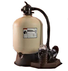 pool equipment, sand filters and pumps
