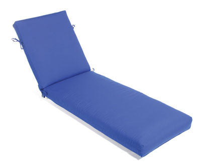 Chaise Cushion With Ties (Non-Tufted)