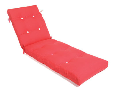 Chaise Cushion With Ties (Tufted)