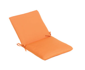 505 - hinged chair cushion with ties