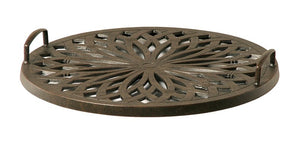 Hanamint Mayfair cast aluminum serving tray