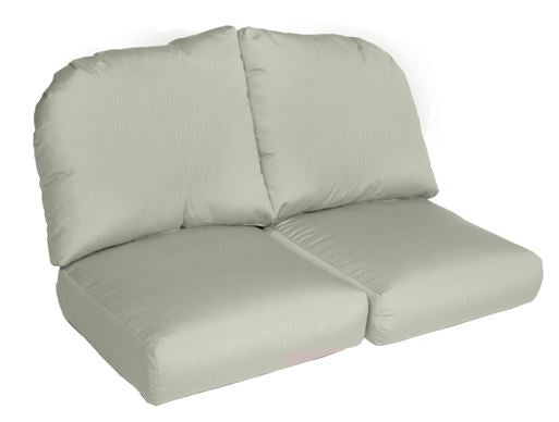 Erwin Collection deluxe wicker sofa cushion loveseat