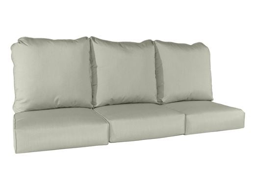 Erwin Collection deluxe wicker sofa cushion 3 seater