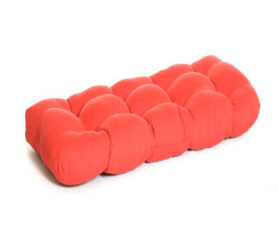 Economy Wicker Tufted Settee Cushion