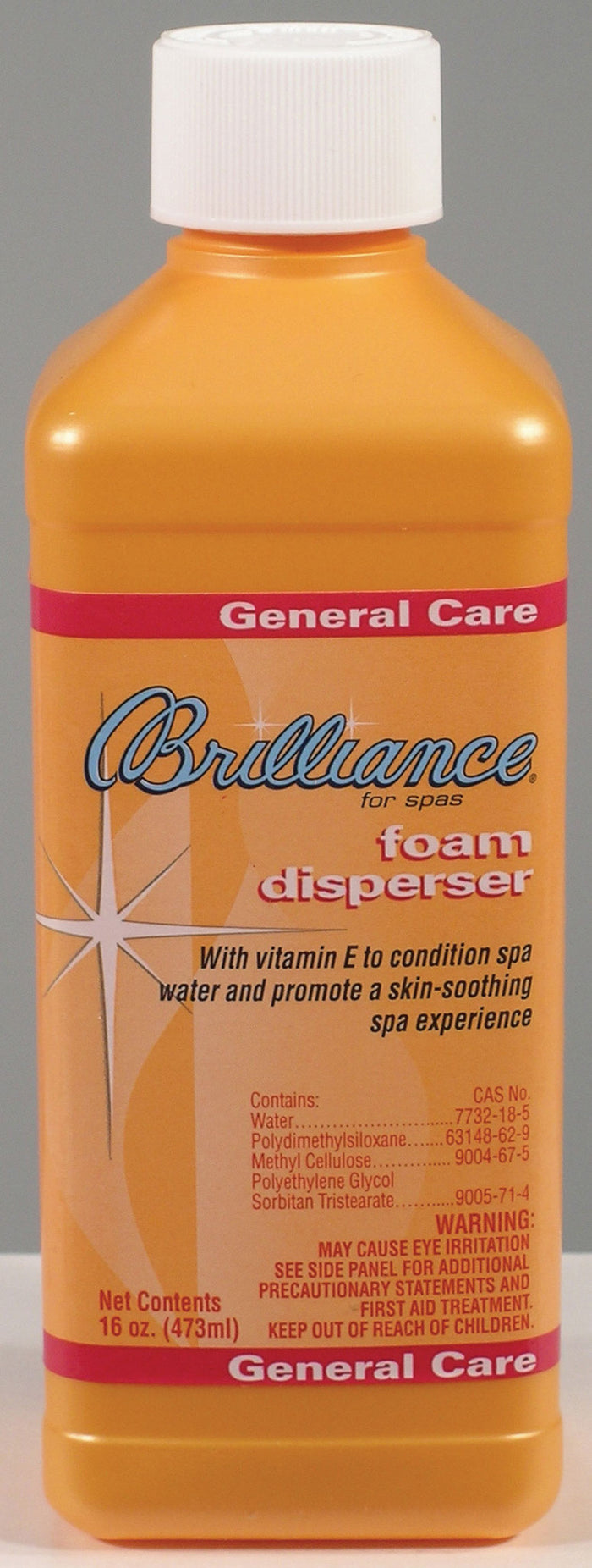BRILLIANCE® for Spas Foam Disperser with Vitamin E