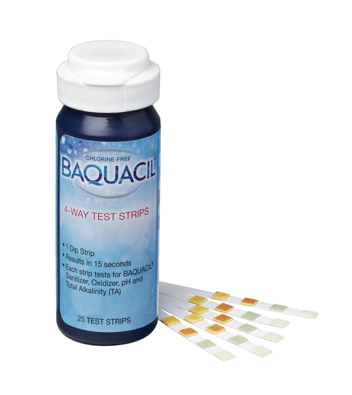 BAQUACIL 4 Way Test Strips