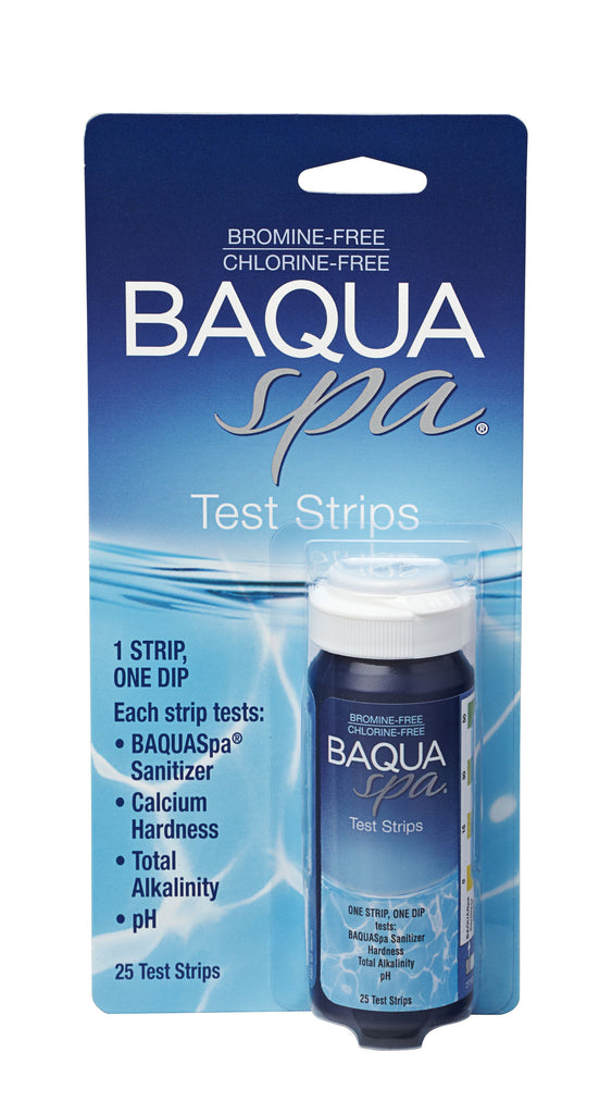 BAQUA Spa® Test Strips - 4 Way