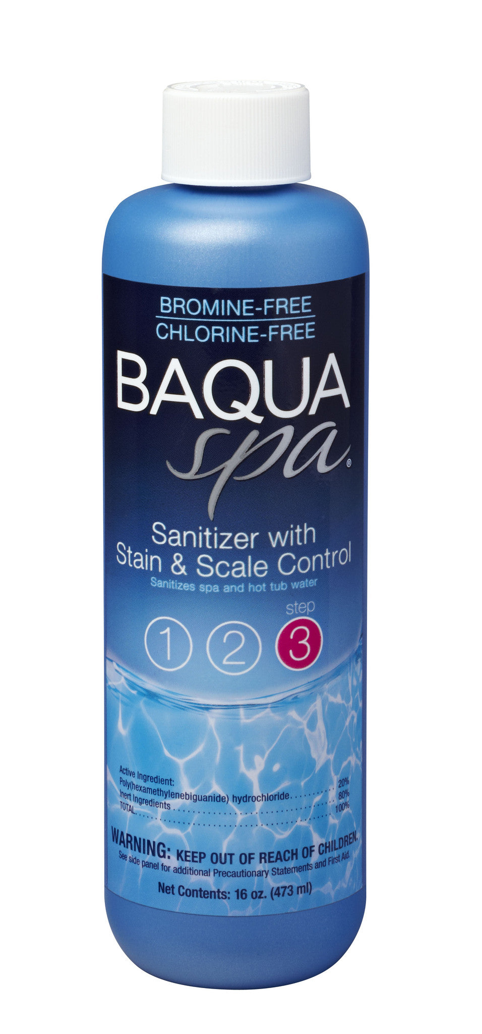 88865 baquaspa sanitizer with stain & scale control