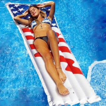 Americana Mattress Pool Lounge