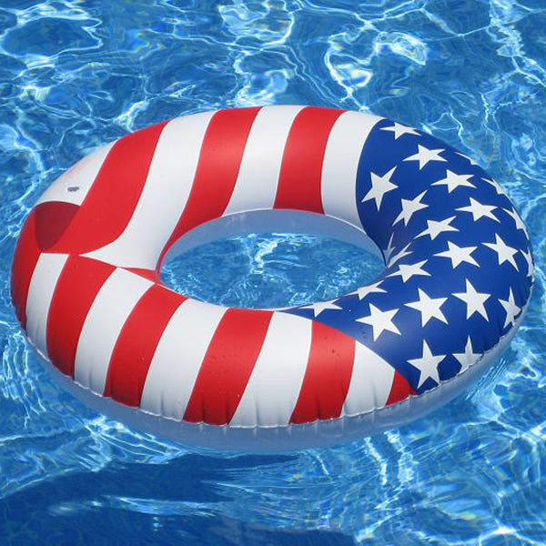 Americana Pool Tube Ring