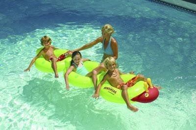 The Centipede Floating Pool Rings