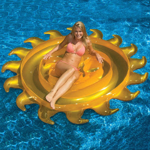 Inflatable Sun Float Island
