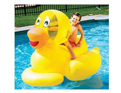GIANT DUCKY RIDE ON