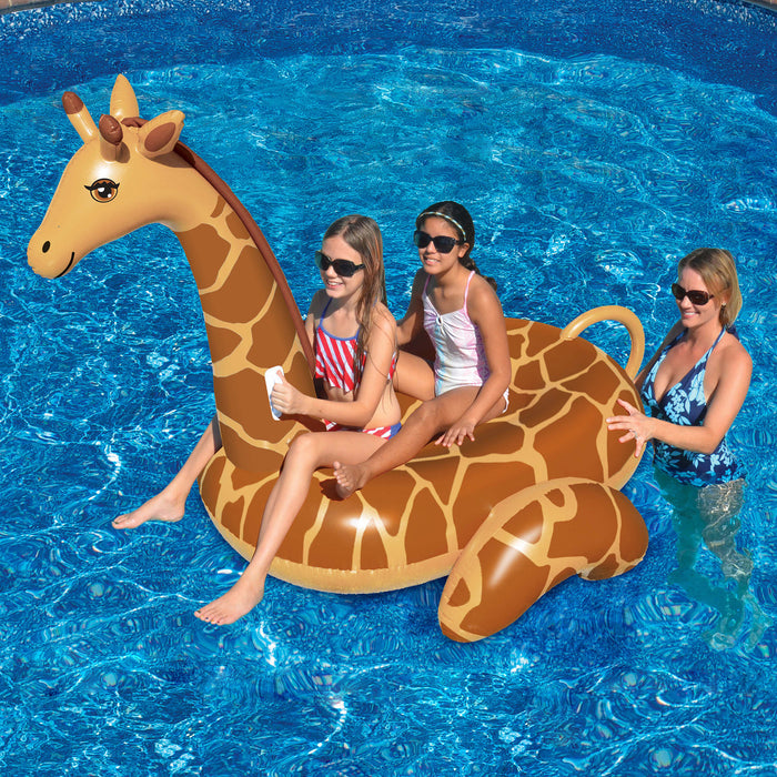 Giant Inflatable Ride On Giraffe