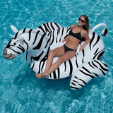 Giant Inflatable Ride On Zebra