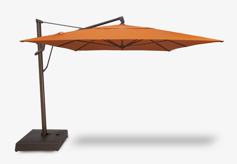 Umbrella - 10'x13' Rectangular Plus Cantilever