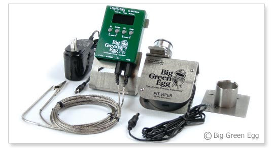 Big Green Egg BBQ Guru Temp Controller