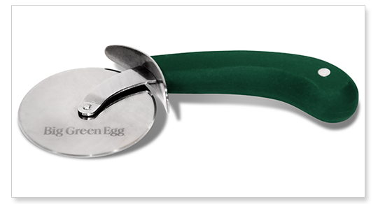 rpc Big Green Egg rolling pizza cutter