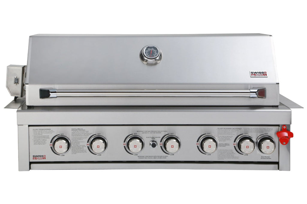 Swiss Grills BI650 Built In Stainless Grill