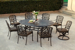Boca 7 Pc. Spherical Dining Set