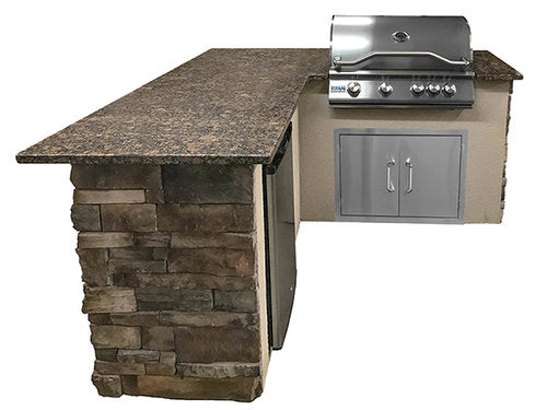 Select Series Backstretch - Outdoor Kitchen Island