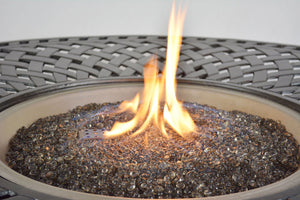 Boca Fire Pit / Chat Table with fire