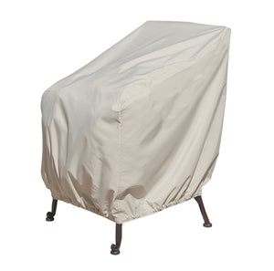 Deep Seating Lounge Chair Protective Cover With Elastic