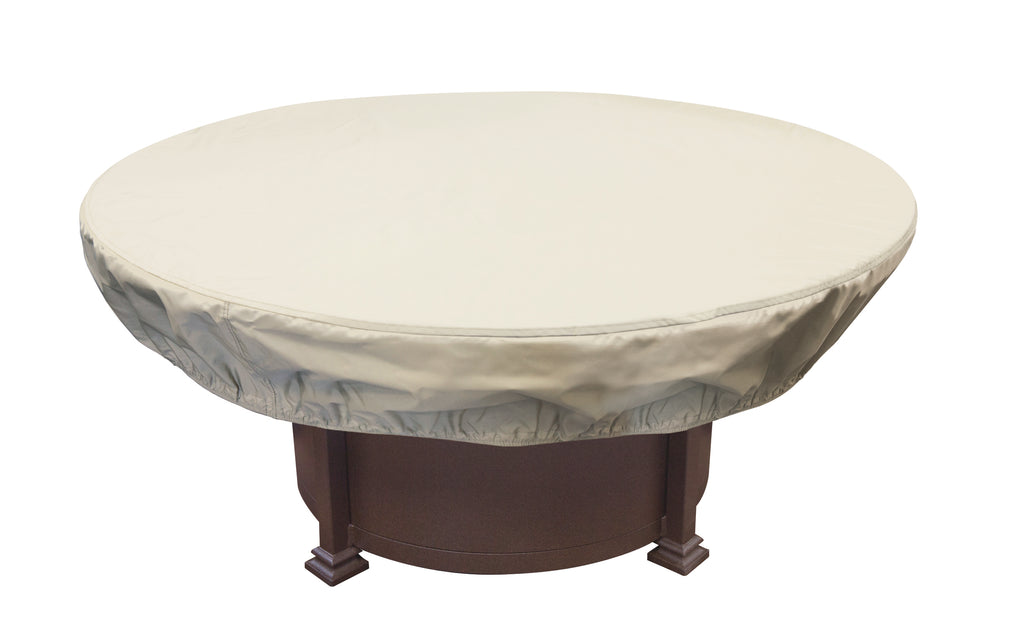 "Round Chat Table and Fire Pit Cover 48""-54"""